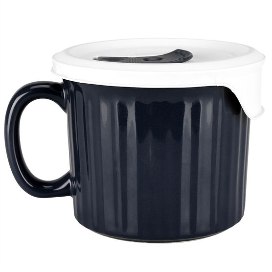 Corningware Pop in Mug - Midnight Blue