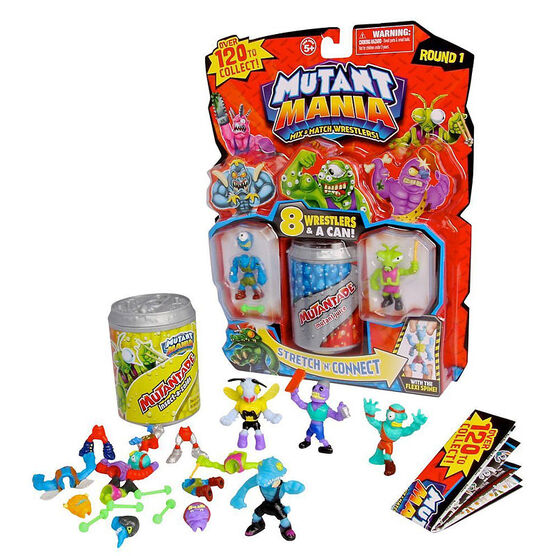 Mutant Mania Mix and Match Wrestlers - Assorted - 8 Pack