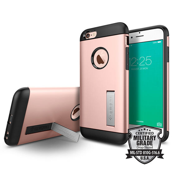 Spigen Slim Armor Case for iPhone 6 Plus/6s Plus - Rose Gold - SGP11727