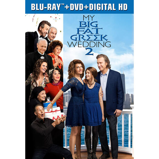 My Big Fat Greek Wedding 2 - Blu-ray