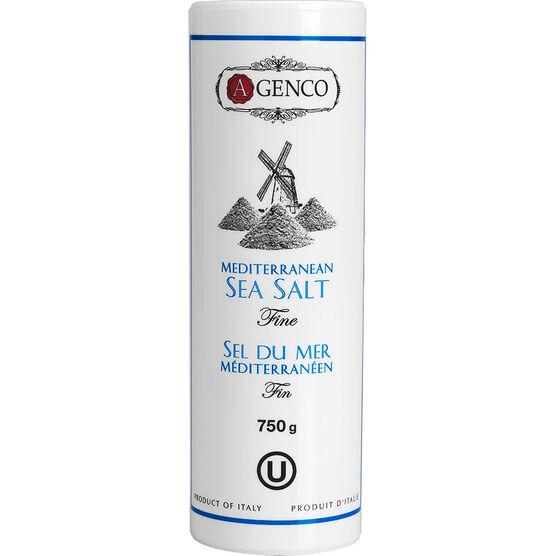 A. Genco Mediterranean Fine Sea Salt - 750g