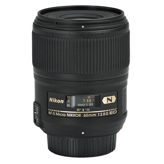 Nikon AF-S 60mm f/2.8G ED Lens - Micro