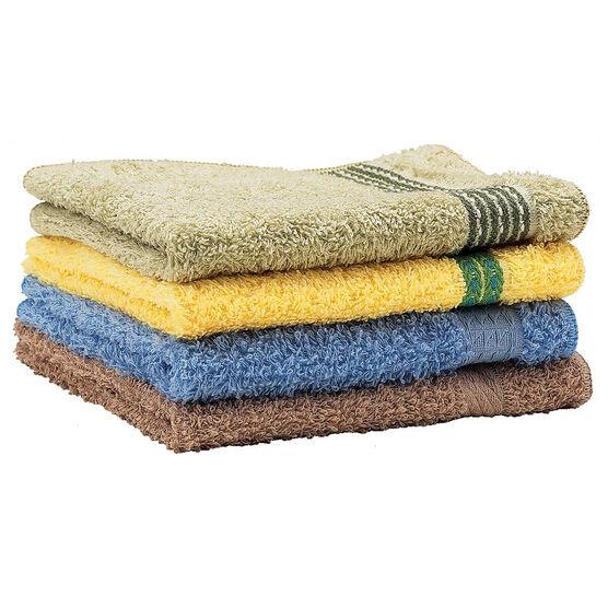 Cambridge Solid Wash Cloth - Assorted Colours