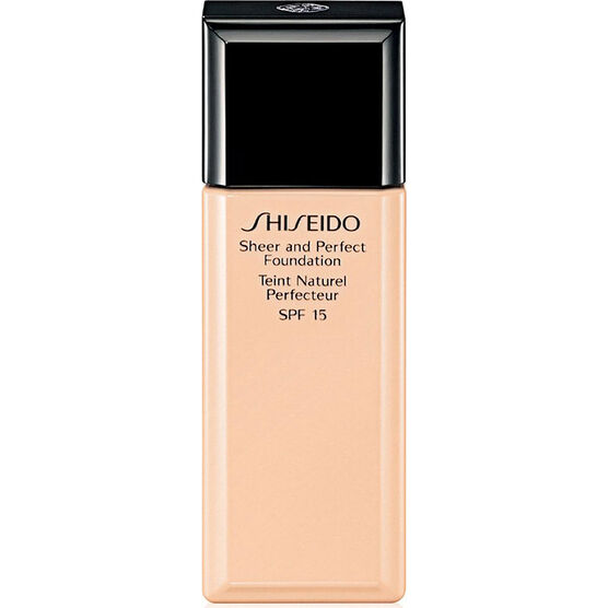 Shiseido Sheer and Perfect Foundation - O60 Natural Deep Ochre