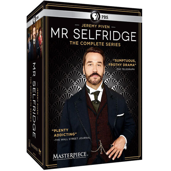 Mr. Selfridge: The Complete Series - DVD
