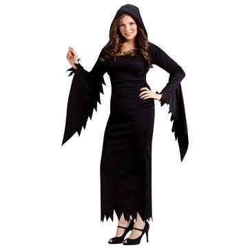 Halloween Hooded Gown - Plus Size