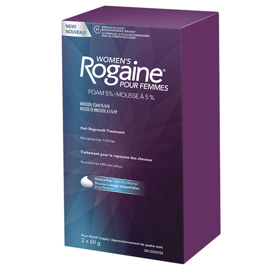 Rogaine Women's Hair Regrowth Treatment - 2 x 60g
