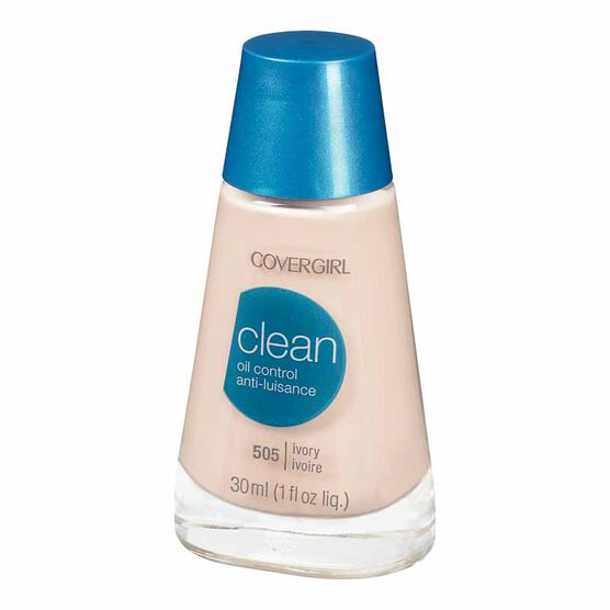 CoverGirl Clean Liquid Makeup for Oil Control - Ivory