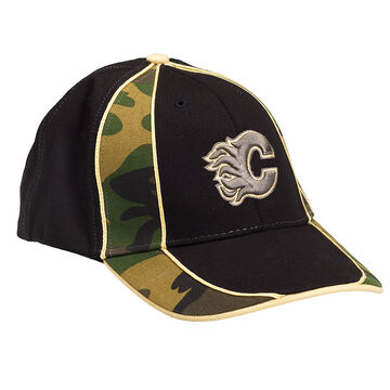 Flames Camo Aftermath Cap - Youth