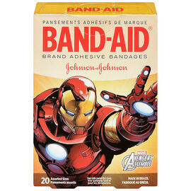 Johnson & Johnson Band-Aid - Marvel Avengers - 20's