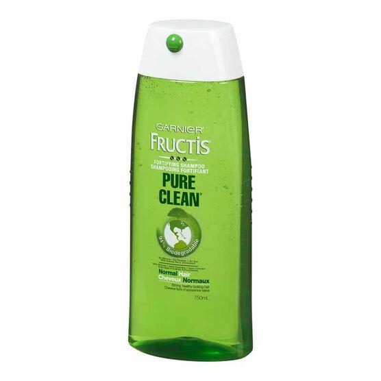 Garnier Fructis Shampoo - Pure Clean - 750ml