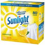 Sunlight Powder Laundry Detergent - Lemon Fresh - 2.94kg/80 Uses