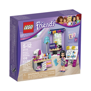 Lego Friends - Emma's Creative Workshop