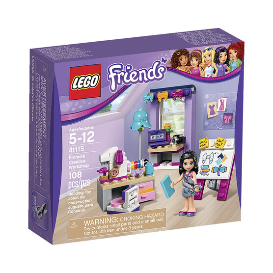 Lego Friends - Emma's Creative Workshop