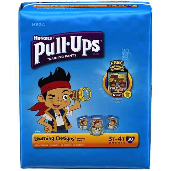 Pull Ups Training Pants - Boys - Size 3-4 - 38's