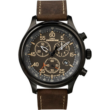 Timex Expedition Field Chronograph - Brown - T49905AW