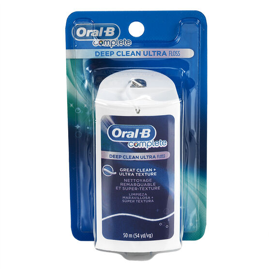 Oral-B Complete Deep Clean Ultra Floss - Regular - 50m