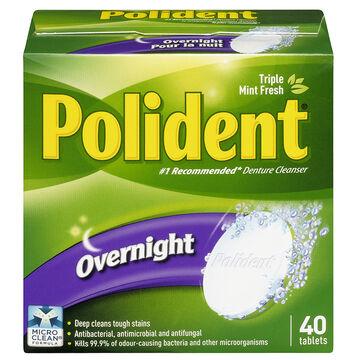 Polident Overnight - 40's