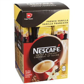 Nescafe Sweet & Creamy French Vanilla - 18x22g