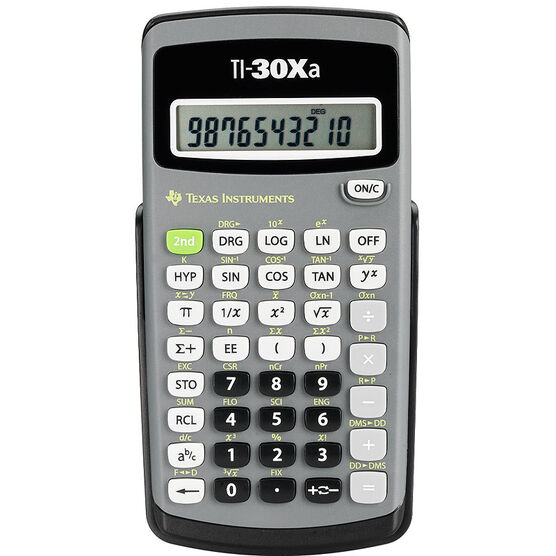 Texas Instruments Scientific Calculator Ti30xa London Drugs