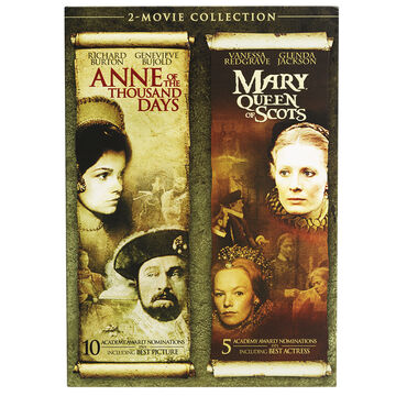 Two Movie Collection: Anne of the Thousand Days/Mary Queen of Scots - DVD