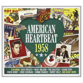 Various Artists - American Heartbeat: 1958 - 2 CD