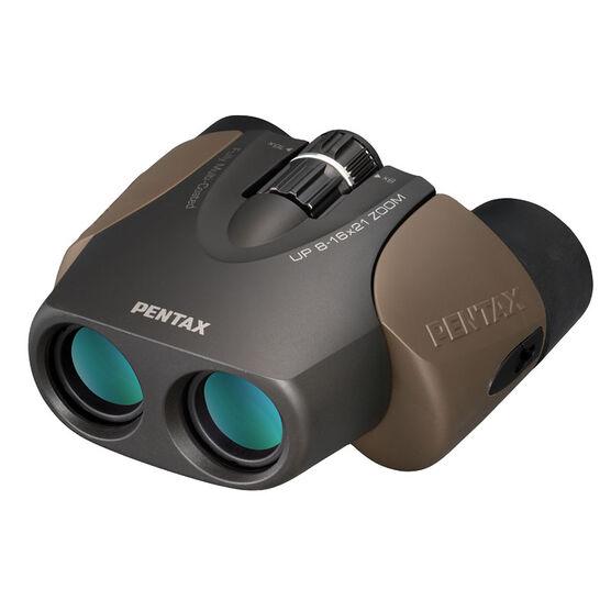 Pentax UP 8-16X21 Zoom Binocular - Brown - 61962