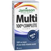 Jamieson Multi 100% Complete Vitamin - Men 50+ - 90's