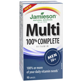 Jamieson Multi 100% Complete Vitamin - Men 50+ - 90's