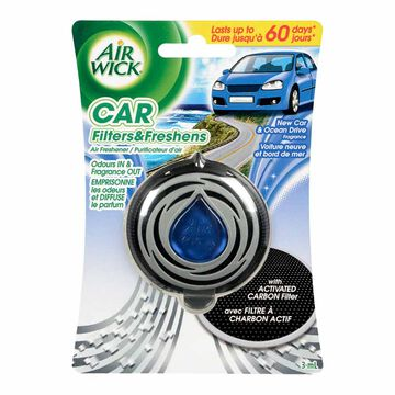 Air Wick Car Freshener - New Car & Ocean Drive