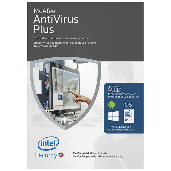 McAfee AntiVirus Plus 2016