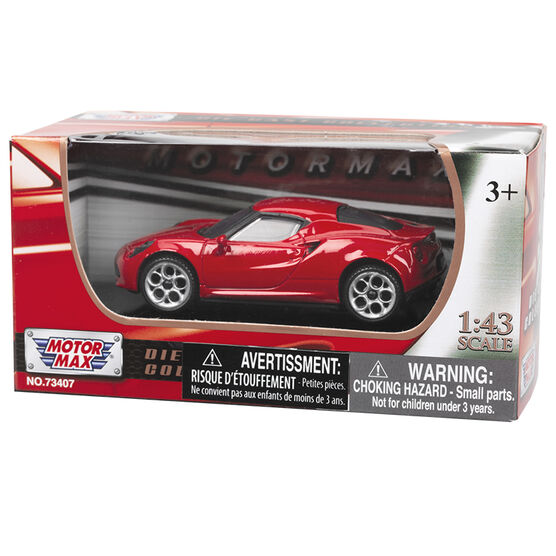 Motor Max Super Wheels Die-Cast Car 1:43 - Assorted