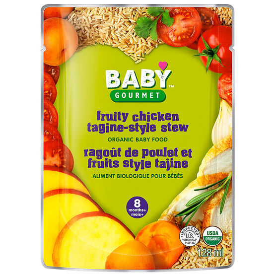 Chicken and rice baby food