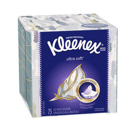 Kleenex Tissues Ultrasoft Assorted - 75's