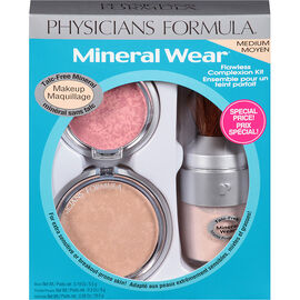 Physicians Formula Mineral Wear Flawless Complexion Kit - Medium