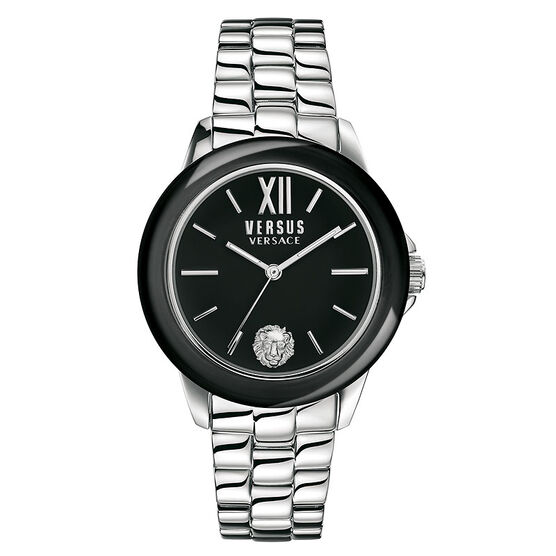 Versace Versus Abbey Road Ladies Watch - Silver/Black - SCC010016