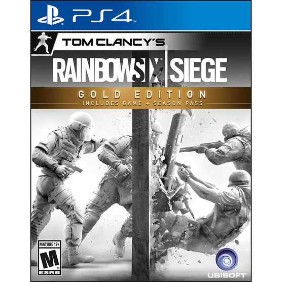 PS4 Rainbow Six Siege - Gold Edition