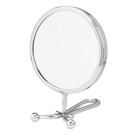 London Premiere Chrome Vanity Stand Mirror - 15cm
