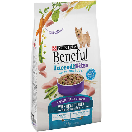 Purina Beneful IncrediBites for Small Dogs - Roasted Turkey - 1.6kg