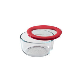 Pyrex Ultimate Round Container - Assorted - 2 Cup
