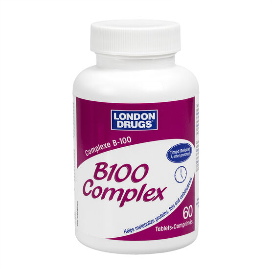 London Drugs B100 Complex - 60's