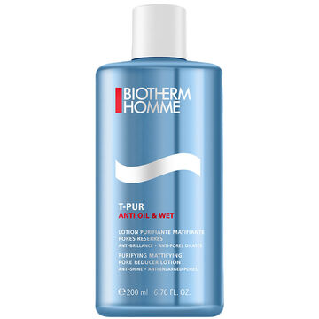 Biotherm Homme T-Pur Anti Oil and Wet Pore Reducer Lotion - 200ml