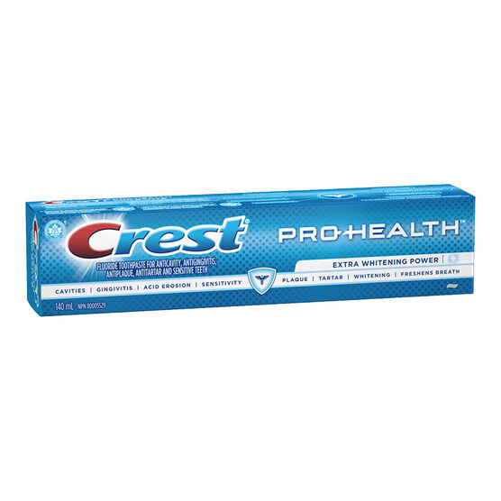Crest PRO-Health Toothpaste - Extra Whitening Power - 140ml