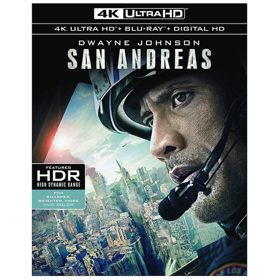 San Andreas - 4K UHD Blu-ray