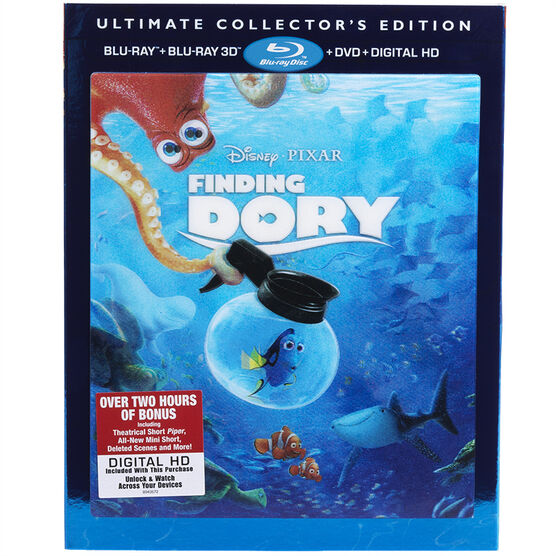 Finding Dory - 3D Blu-ray