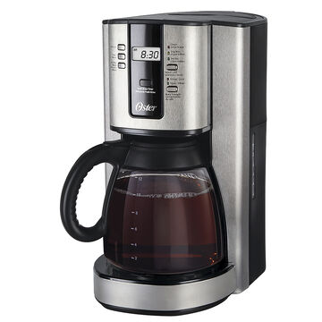 Oster Drip Coffee Maker : Oster 12 cup Coffee Maker - Silver - BVSTTJX37-033 - London Drugs