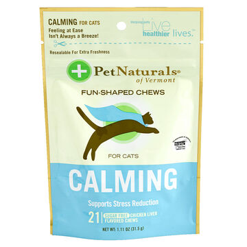 Pet Naturals Calming Chews for Cats - 21's