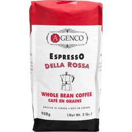 A.Genco Della Rossa Whole Bean Coffee - 908g