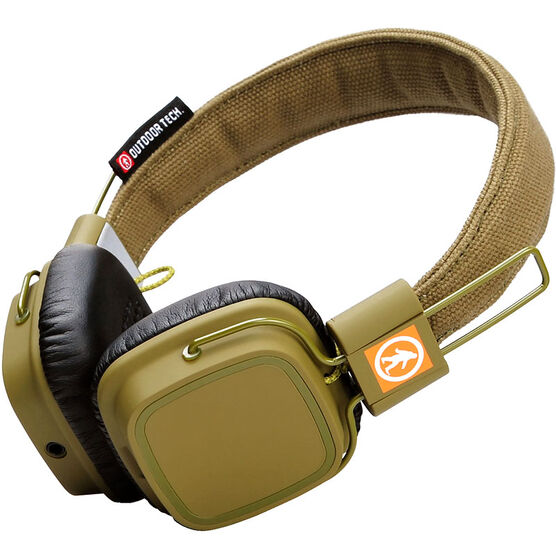 Outdoor Tech Privates Bluetooth Headphones - Green - OT1400AG