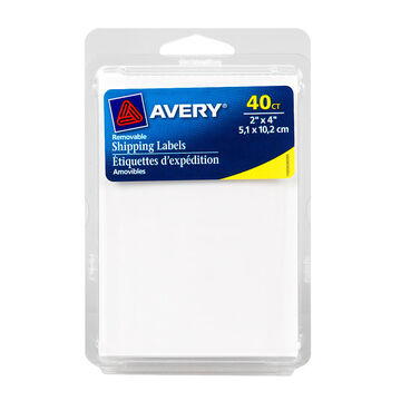 Avery Shipping Labels - 2x4 inches -  40's